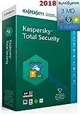 Kaspersky Total Security 2018 - 3 PC/MAC/Dispositivi - 1 Anno - ESD - Digital Code