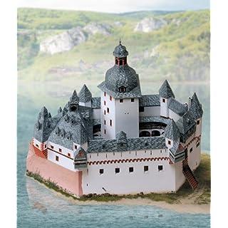 Aue-Verlag 30 x 14 x 25 cm Pfalz Castle near Kaub Model Kit
