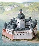Aue Verlag Modellbausatz Burg Pfalzgrafenstein, 30x 14x 25cm