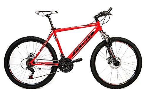 CLOOT BIKE   BICICLETAS MOUNTAIN BIKE 26   MTB   SL SPORT 2 1  21 VELOCIDADES  HORQUILLA SUSPENSION  FRENOS DISCO   TALLA: DE 172 A 185 BICI DE MONTAÑA