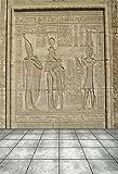 YongFoto 1,5x2,2m Vinyl Foto Hintergrund Hieroglyphische Schnitzereien Alter Ägyptischer Tempel Ägypten Pharao Fotografie Hintergrund für Fotoshooting Portraitfotos Fotografen Kinder Fotostudio Requisiten