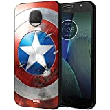 CellKraft 101229 Licensed Marvel Captain America Sheild Hard Back Case Mobile Cover for Redmi Y2 (Multicolor)