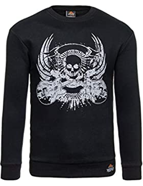 BOLF – Felpa – Pullover – Manica lunga – Maglione – Classic – Motivo – 1A1