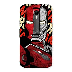 Introduction Man Back Case Cover for Moto G3