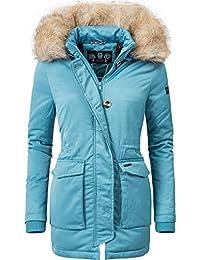 4d573ef9a113e Navahoo Schneeengel Cappotto Invernale Parka da Donna Invernale Foderata 11  Colori XS-XXL