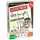 Funny ARAB DEAL CARD GAME Board game Arvin Tycoon Card 108 Card Games Board & Card Game Family Toys