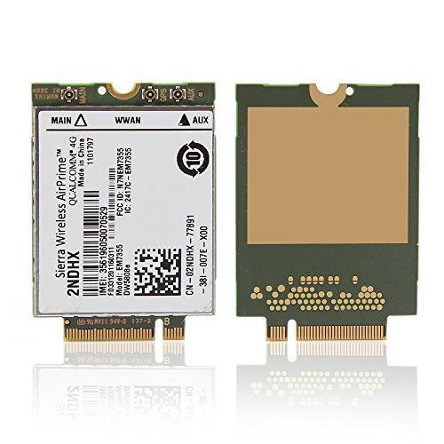 Sierra Wireless 3g Adapter (Sierra Wireless em7355gobi50003G/4G LTE Modul NGFF für Dell venue11Pro 7130WWAN Karte 2ndhx (entsperrt))