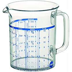 Emsa Superline - Jarra medidora de 0,5 l, transparente
