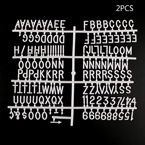 ZOOMY Caracteres Tablero Letras Fieltro Números 290