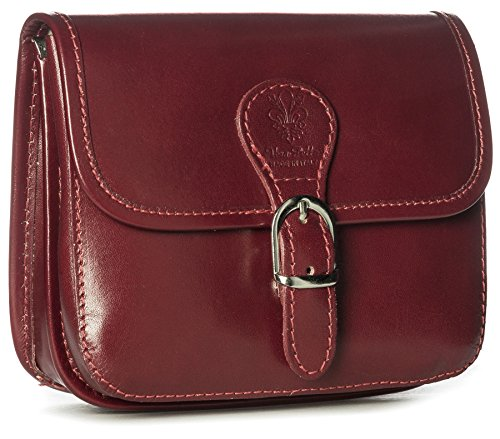 Big Handbag Shop, Borsa a tracolla donna One Rosso (ROSSO)