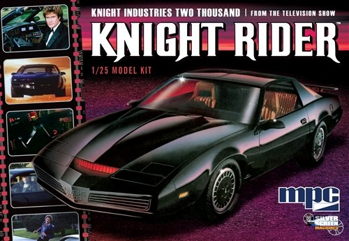 MPC Knight Rider 1982 Pontiac Firebird modello Kit