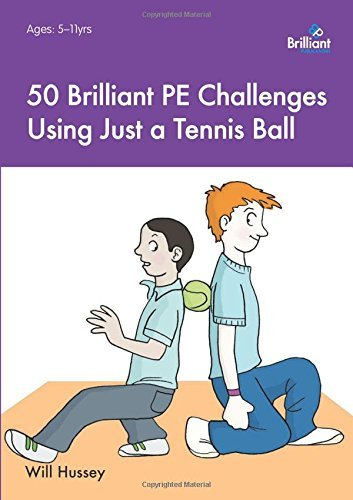 50 Brilliant PE Challenges Using Just a Tennis Ball by Will Hussey (12-Mar-2015) Paperback