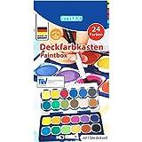 Stylex 28179 - Schuldeckfarbkasten mit 24 Farben