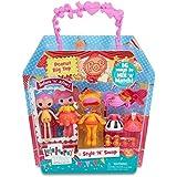 Lalaloopsy Minis Style 'N' Swap Peanut Big Top - muñecas (Chica, Multicolor, De plástico, Vestido para muñecas, Doll hat, Zapatos, Femenino, CE)