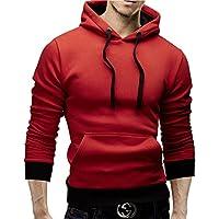 MERISH Hoodie Herren Kontrastfarben Kapuzenpullover Modell 53