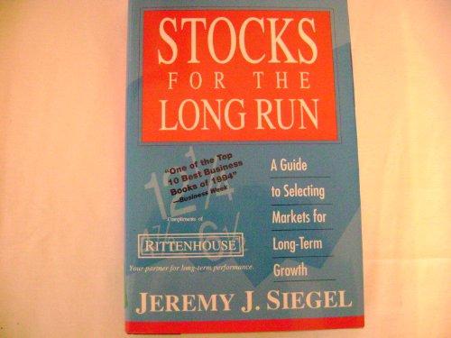Stocks Long Run Rittenhouse Ed
