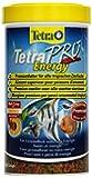 Tetra Pro Energy Premiumfutter (für alle tropischen Zierfische, mit Energiekonzentrat für extra Wohlbefinden, Vitaminstabilität und hoher Nährwert, konzentrierter Nährstoffgehalt Omega-3 Fettsäuren)
