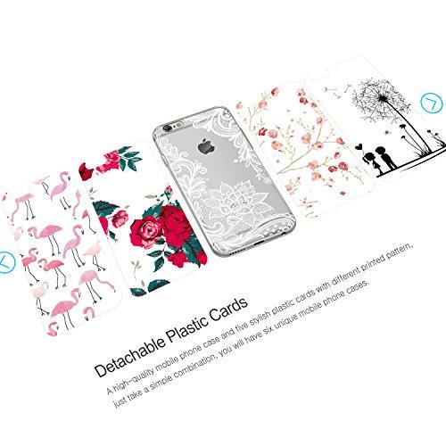5 pcs coque iphone 6
