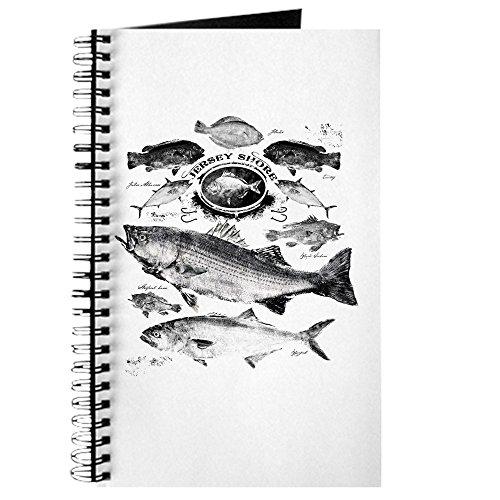 CafePress - Jersey Shore - Spiralgebundenes Tagebuch, persönliches Tagebuch, liniert -