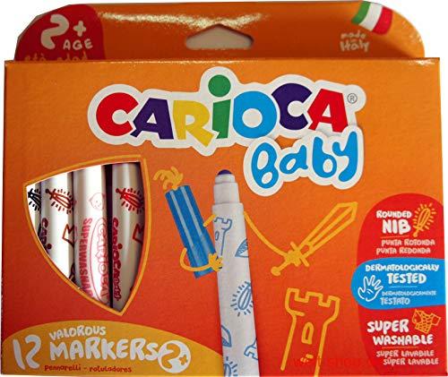 Carioca Jumbo Filzstifte abwaschbar für Kleinkinder