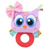 TOLOLO Owl hochet souple jouet pour plus de 0 mois...