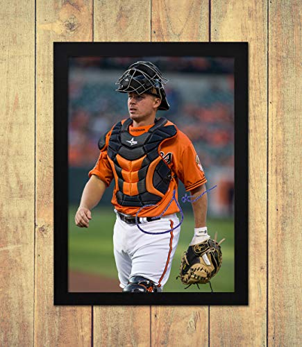 Steve Clevenger - Baltimore Orioles - MLB 1 - High Gloss Printed Poster - A4 (210 x 297 mm) Personalised Framed Baltimore Orioles-design