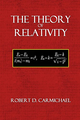 The Theory of Relativity: Volume 12 (Mathematical Monographs)