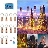 Luces de Botella de Vino, Cadenas Luces para Botella de Luz, DIY Guirnaldas Luces