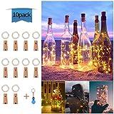 Luces de Botella de Vino, Cadenas Luces para Botella de Luz, DIY Guirnaldas Luces Led...