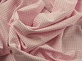 Baumwolle kariert Seersucker Kleid Stoff Meterware,
