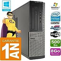 Dell PC 3010 DT Intel G2020 Ram 8Go Disque 500 Go WiFi W7 (Reconditionné Certifié Grade A)