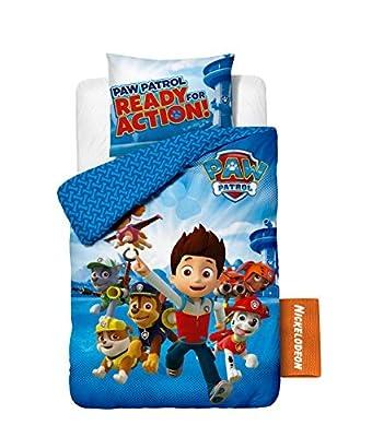 Funda nórdica Nickelodeon Paw Patrol Puppy, 140cm x 200cm, Con 1 Funda De Almohada 60x70 por NICKELODEON