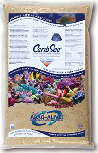 Carib Sea 455ml arag-Alive 2er 9kg Spezial Reef Sand, Bahamas Oolith (Reef Live Sand)