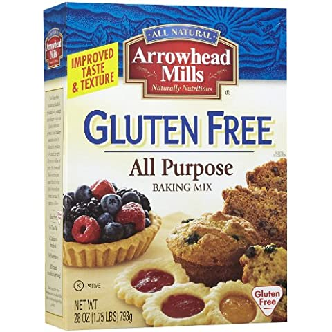 Arrowhead Mills Gluten Free All Purpose Baking Mix, 28 Ounce