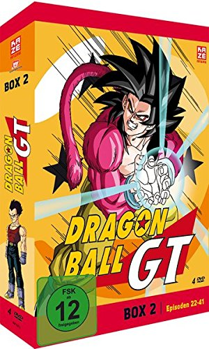 Dragonball GT - Box 2/3 (Episoden 22-41) [4 DVDs] (Dragon Serie Gt-komplette Ball)