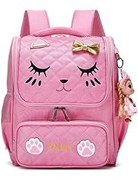 5216531ead Zaino per ragazze scuola per scuola elementare Zaini per gatti scuola  ricamo per bambini
