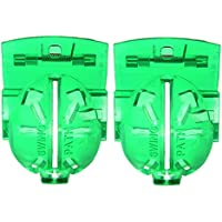 Tubala 2 Pack Golf Ball Line Liner Marker Template Drawing Mark Golf Ball Alignment Tool