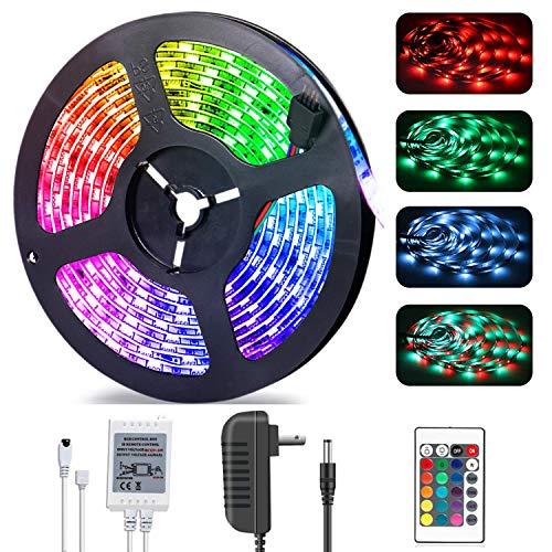 LED Stripes, Stripe, Lichterkette, RGB 5M SMD 5050 150 LEDs, Streifen, LED Leiste, LED Lichtleiste IP20