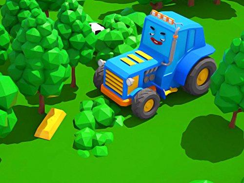 Gold-traktor (Traktor mit einer Goldbarren)
