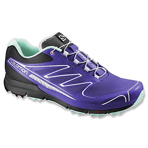 Salomon Sense Pro Women's Scarpe Da Trail Corsa purple - white - black