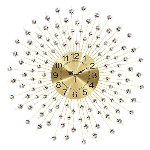 XIXIGZ Relojes De Pared Reloj De Pared Sala De Estar Personalidad Creativa Tendencia De Moda Reloj Moderno Ambiente Minimalista Reloj De Cuarzo Reloj Mesa Nórdica