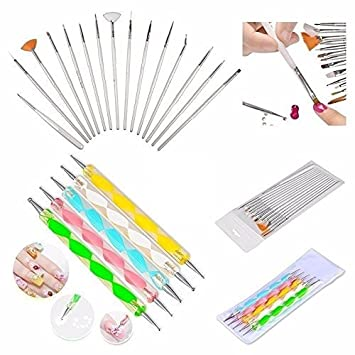 Buy foolzy foo na a1 nail art brush pen 20 pieces online at low buy foolzy foo na a1 nail art brush pen 20 pieces online at low prices in india amazon prinsesfo Image collections