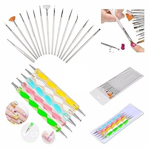 Foolzy FOO-NA-A1 Nail Art Brush Pen (20 Pieces)
