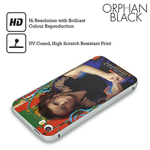Ufficiale Orphan Black Mika Felix Opera Darte Argento Cover Contorno con Bumper in Alluminio per Apple iPhone 5 / 5s / SE Sarah