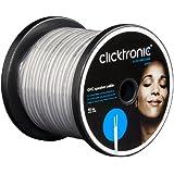 Clicktronic Casual Câble haut-parleur OFC (câble 2 x 2,5 mm² avec tresses en cuivre pur) 10 m