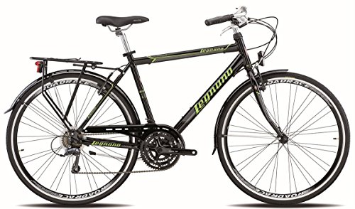 LEGNANO BICICLETA 300 SANREMO GENT 21 V TALLA 56 NEGRO (CITY)/BICYCLE 300 SANREMO GENT 21S SIZE 56 BLACK (CITY)