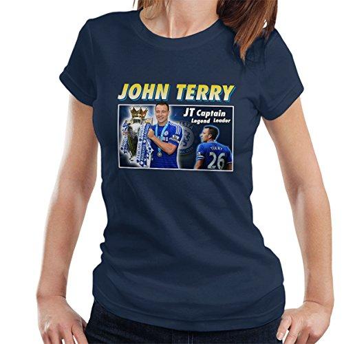 john-terry-captain-legend-leader-montage-womens-t-shirt
