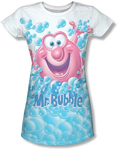 mr-bubble-clean-sweep-maglietta-da-ragazzo-bianco-xx-large