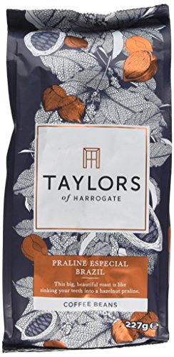 Taylors of Harrogate Praline Especial Brazil Coffee Beans, 227g (Pack of 6)