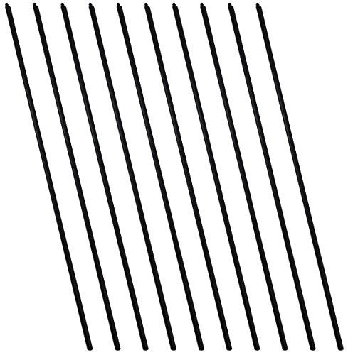 SchwabMarken Jonglierstäbe aus Kunststoff Oder Holz 10 Kunststoffstäbe für Jonglierteller -